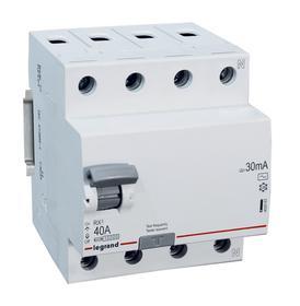 Wyłącznik różnicowoprądowy RX3 40A 30mA AC 4P