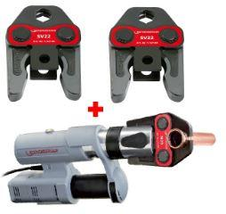 Zaciskarka ROMAX AC ECO (15705) + szczęka M 18    (15103X) i 22 mm (15104X)