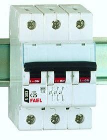 S303 C25 TX3  Wyłącznik nadprądowy, 25A 6kA charakterystyka C, 3-polowy
