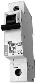 ETIMAT10 charakterystyka B 16A 10kA wyłącznik nadprądowy jednopolowy