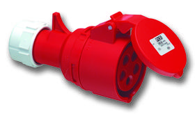 Gniazdo przenośne TURBO TWIST 16A 3P+Z+N 400V 50/60Hz 6h IP44 bezśrubowe