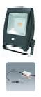 Naświetlacz led z czujnikiem ruchu IR, napięcie   zasilania: 200-240V, 50/60Hz, moc oprawy 30W