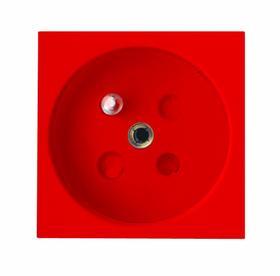 Gniazdo DATA z uziemieniem z kluczem 45 x 45 mm odchylone 45 stopni od osi 28000202 BERKER
