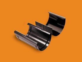 Złączka rynny 100 z wkładką, Kanion PVC brąz 3060302314 WAVIN