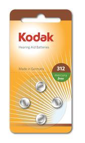 Bateria cynkowo-powietrzna do aparatów słuchowych ZA312, blister=4 szt 30410428 KODAK HEARING AID BATTERIES