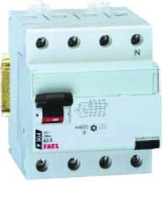 P304 63-30-AC TX3  Wyłącznik różnicowoprądowy, 63A, typ AC, 4-modułowy 411709 LEGRAND