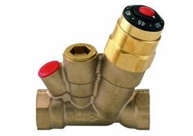 Zawór termostatyczny wielofunkcyjny, gwint Rp 1/2 DN15