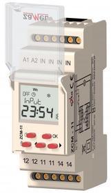 Programator czasowy 1-KAN. tygodniowy 230V AC TYP: ZCM-11 ZCM-11