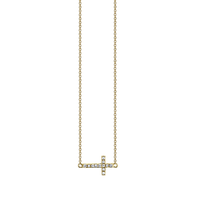 Swoonery-Mini Cross Necklace
