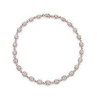 Swoonery-Kotlar Cushion & Pink Diamonds The Vault Necklace