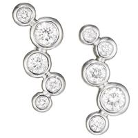 THROWING STONES DIAMOND CLIMBER EARRINGS