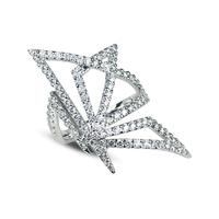 Swoonery-Origami Silhouette I Diamond Ring