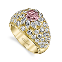 Swoonery-Octagon Ring 0.76ct Diamond