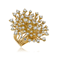Swoonery-Yellow Gold Luminus Ring