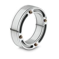 Swoonery-Titanium Bridge Ring