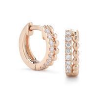 Swoonery-Poppy Rae Rose Gold Earrings
