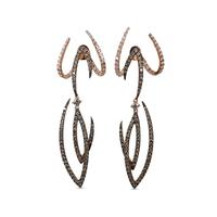 Swoonery-Le Phoenix Enchanted Wings Earrings