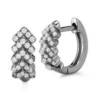 Swoonery-Kathryn Lynn Black Gold Hoop Earrings