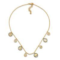 Swoonery-20K Auspicious Charm Necklace