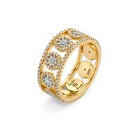 20K Mandala Band Ring