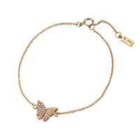 Swoonery-Little Miss Butterfly & Stars Bracelet