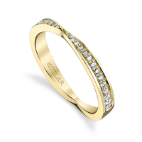 Swoonery-Bloom Artisan Pave Band