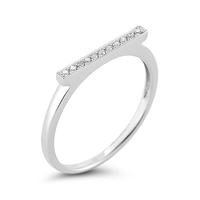 Swoonery-Sylvie Rose Bar Ring