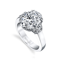 Swoonery-Oval 4.04ct Classico Ring