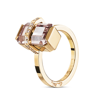 Swoonery-Little Bend Over Morganite Ring