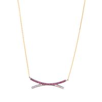 Yossi Harari Lilah Crisscross Necklace