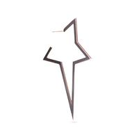 Swoonery-Two Tone Large Star Earring