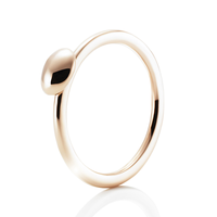 Swoonery-Gold Love Bead Ring
