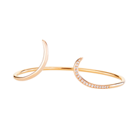 Swoonery-Serpentine Sleeps Cuff Bracelet
