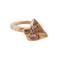 Swoonery-Pink Arrow Ring