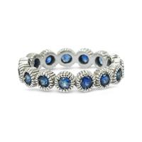 Youth Eternity Ring Sapphire