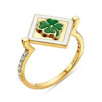 20K Lucky Flip Ring