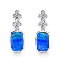 Swoonery-CLASSIC OPAL EARRINGS I