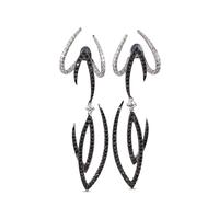 Swoonery-White Gold Le Phoenix Enchanted Earrings