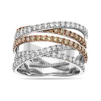Swoonery-Criss Cross Pave Band