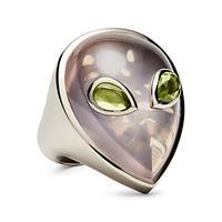 Swoonery-Alien Peridot Ring