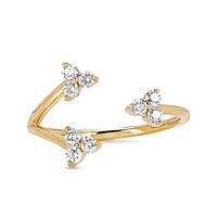 Swoonery-Triple Trio Ring