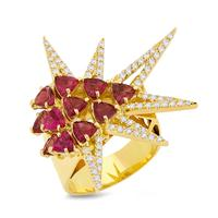 Swoonery-Shine Ring - Ruby