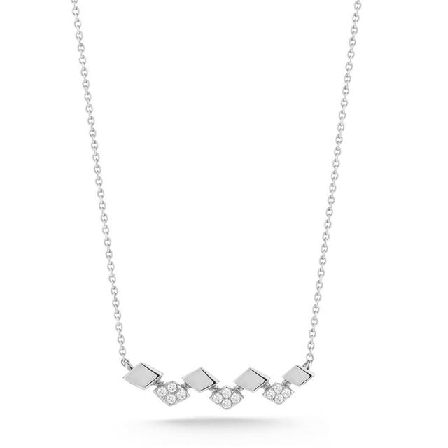 Swoonery-Jeanie Ann White Gold Necklace