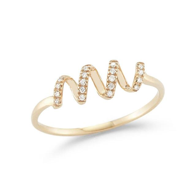 Swoonery-Carly Brooke Yellow Gold Ring