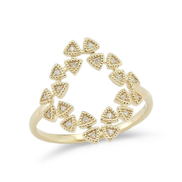 Swoonery-Emily Sarah Flutter Diamond Ring
