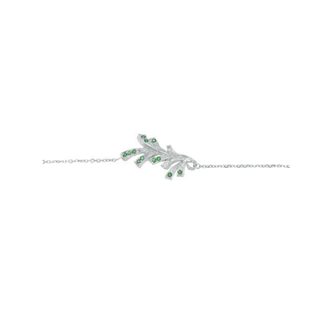 Swoonery-Pinecone Pendant Bracelet