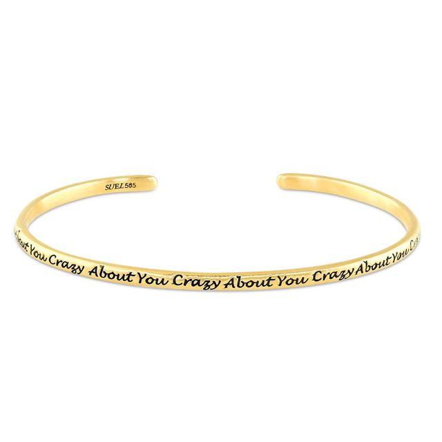Swoonery-CRAZY ABOUT YOU BANGLE