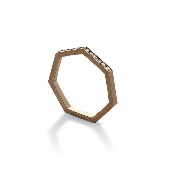 Swoonery-HEPTAGON RING