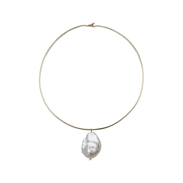 Swoonery-Cloud Necklace