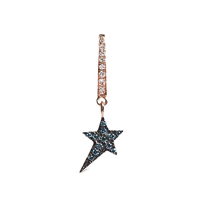 Swoonery-Star Charm Earring